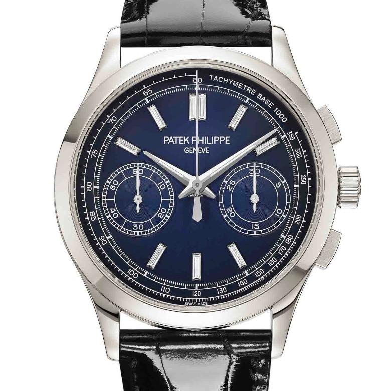 Patek Philippe Chronograph Blu Dial-780px