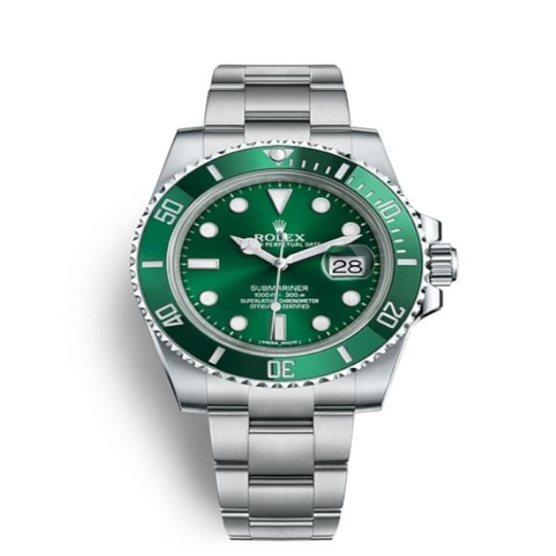 Rolex Ghiera verde verticale780px